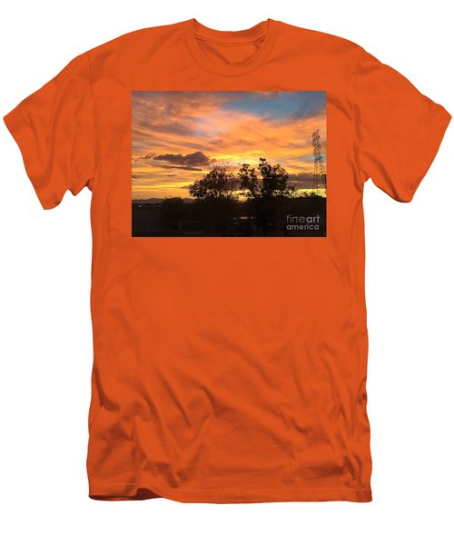 Arizona Awesome Men's T-Shirt (Slim Fit) by Anne Rodkin