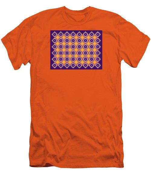 Art Matrix 001 A Men's T-Shirt (Slim Fit) by Larry Capra