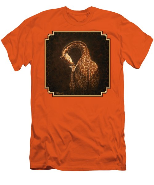 Love's Golden Touch Men's T-Shirt (Slim Fit) by Crista Forest