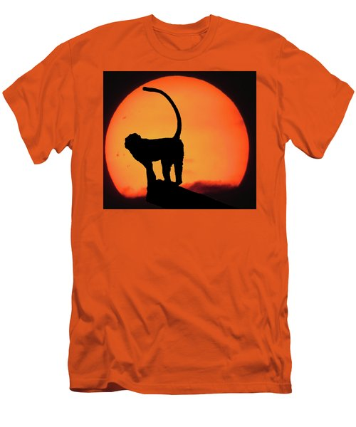 As The Day Ends Men's T-Shirt (Slim Fit) by Martin Newman