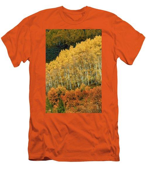 Aspen Waves Men's T-Shirt (Athletic Fit)