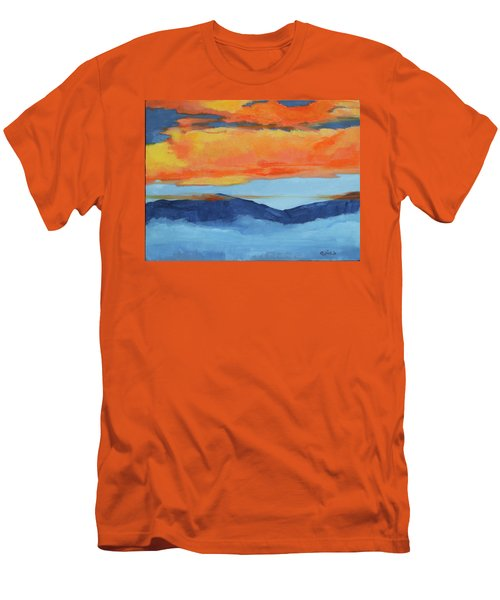 Autumn Alpenglow Men's T-Shirt (Athletic Fit)