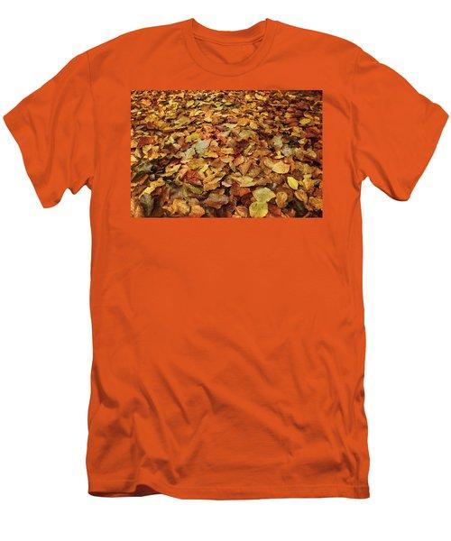 Autumn Carpet Men's T-Shirt (Slim Fit)