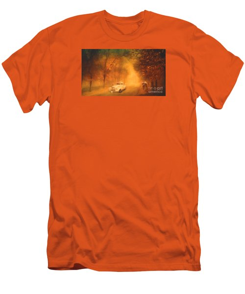 Autumn Evening Men's T-Shirt (Slim Fit) by Jim  Hatch