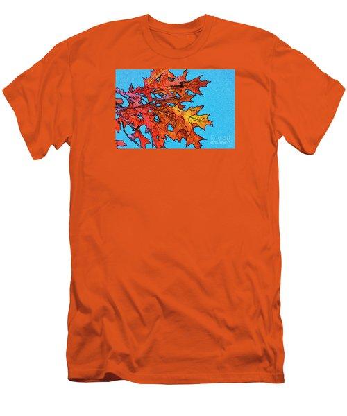 Autumn Leaves 14 Men's T-Shirt (Athletic Fit)