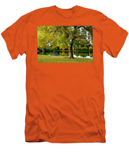 Autumn Repite Men's T-Shirt (Athletic Fit)