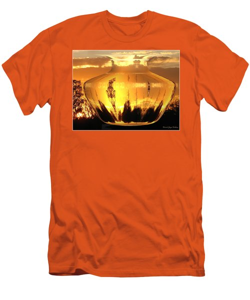 Men's T-Shirt (Slim Fit) featuring the photograph Autumn Spirits by Joyce Dickens