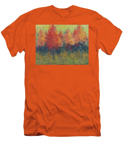 Autumn's Glow Men's T-Shirt (Slim Fit) by Lee Beuther