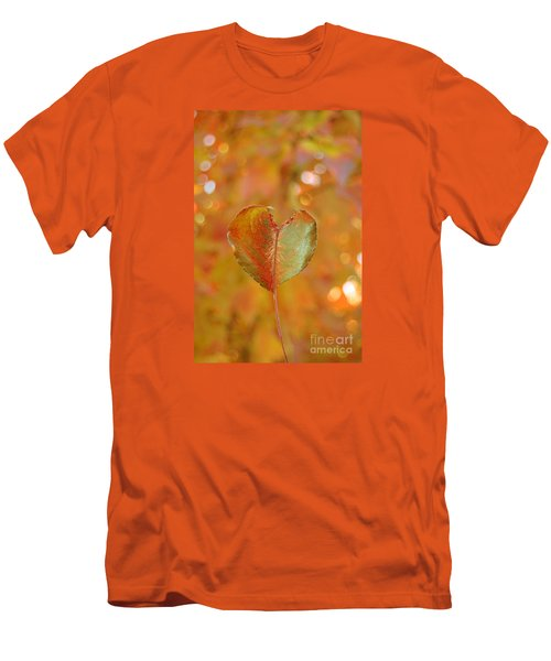 Men's T-Shirt (Slim Fit) featuring the photograph Autumn's Golden Splendor by Debra Thompson