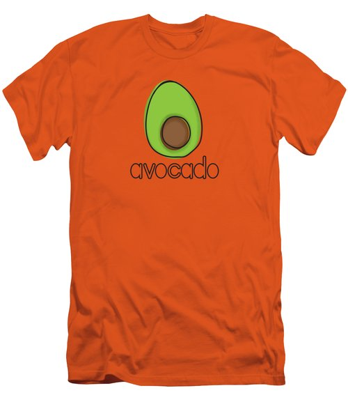 Avocado Men's T-Shirt (Slim Fit) by Monette Pangan