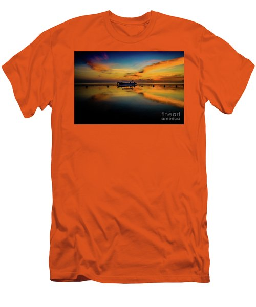 Magical Bali Sunrise Men's T-Shirt (Athletic Fit)