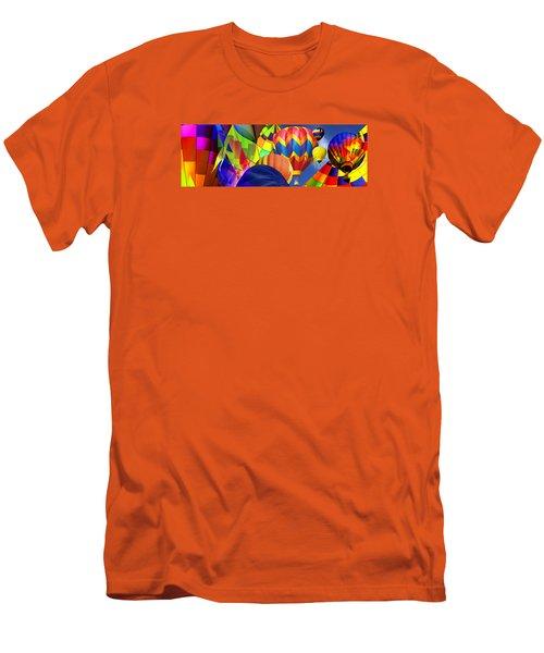 Balloon Festival Men's T-Shirt (Athletic Fit)
