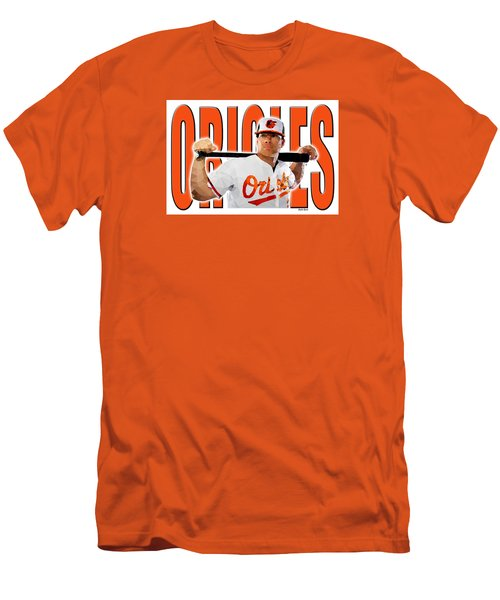 Baltimore Orioles Men's T-Shirt (Slim Fit) by Stephen Younts