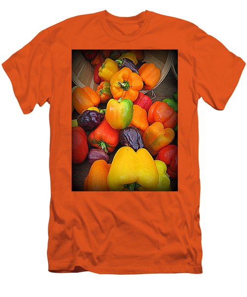 Basket Full O'peppers Men's T-Shirt (Athletic Fit)