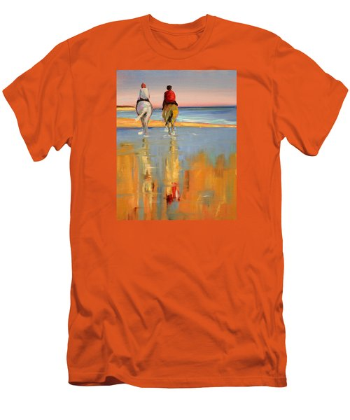 Beach Riders Men's T-Shirt (Athletic Fit)