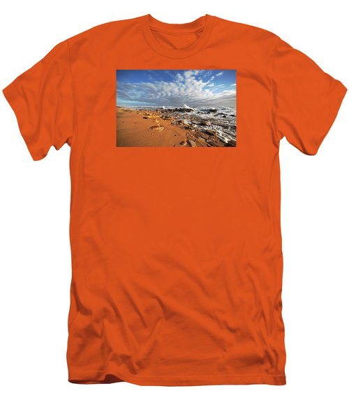 Beach View Men's T-Shirt (Slim Fit) by Robert Och