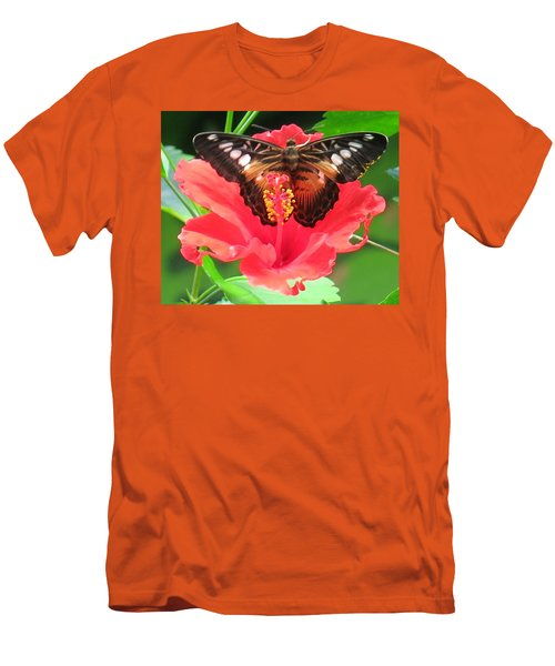 Beautiful Butterfly Men's T-Shirt (Slim Fit) by Betty Buller Whitehead