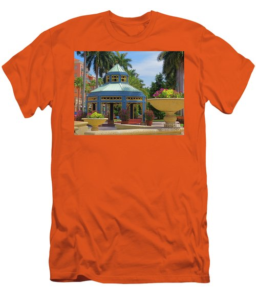 Beautiful Mizner Park In Boca Raton, Florida. #2  Men's T-Shirt (Athletic Fit)