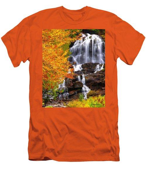 Beaver Brook Falls Men's T-Shirt (Athletic Fit)