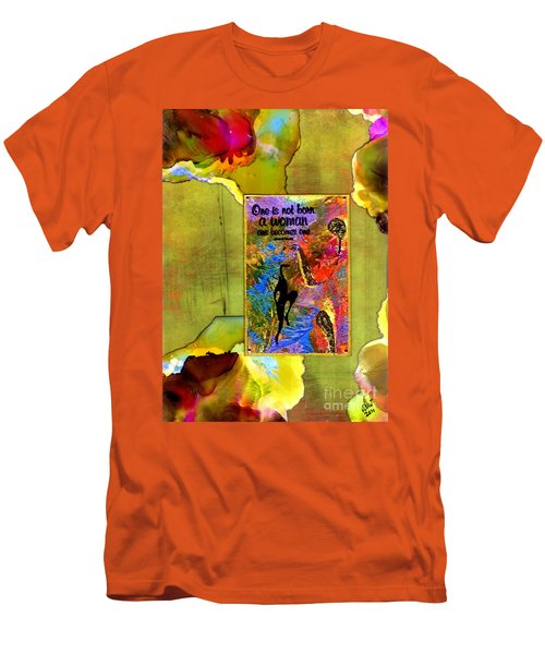 Becoming A Woman Men's T-Shirt (Slim Fit) by Angela L Walker