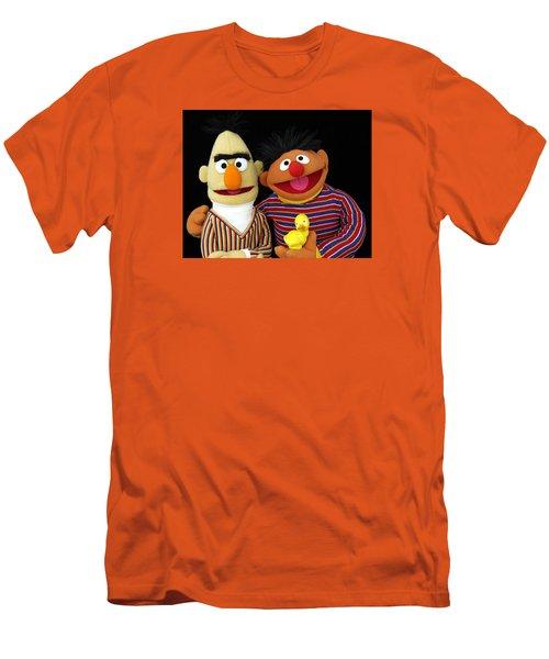 Bert And Ernie Men's T-Shirt (Athletic Fit)