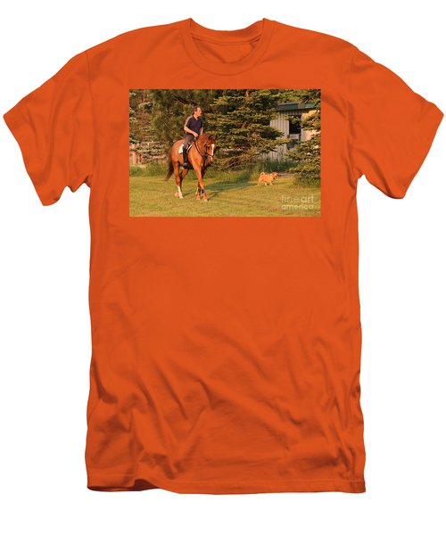 Best Friends Men's T-Shirt (Athletic Fit)