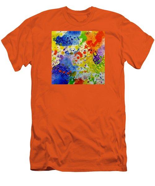 Big Risk, Big Life Men's T-Shirt (Slim Fit) by Tracy Bonin
