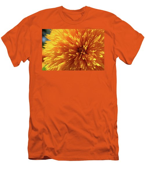 Men's T-Shirt (Slim Fit) featuring the photograph Blooming Sunshine by Marie Leslie