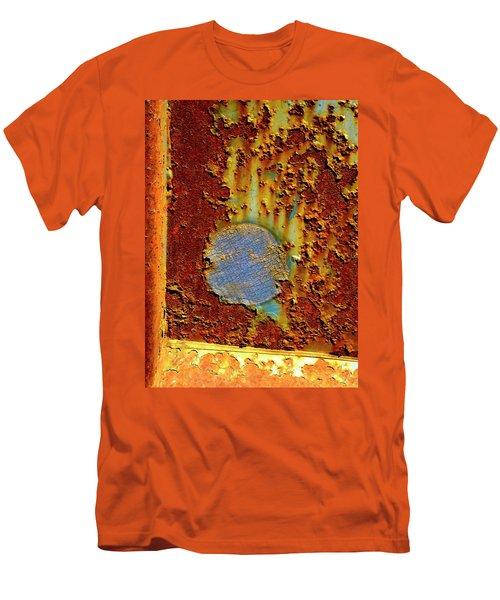 Blue Dot Metal Men's T-Shirt (Athletic Fit)