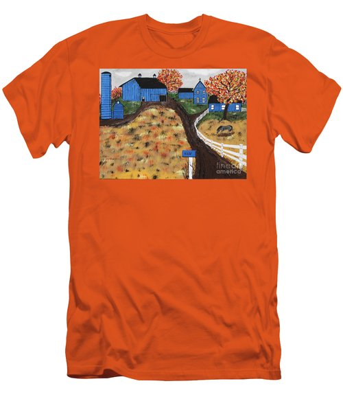 Blue Mountain Farm Men's T-Shirt (Athletic Fit)