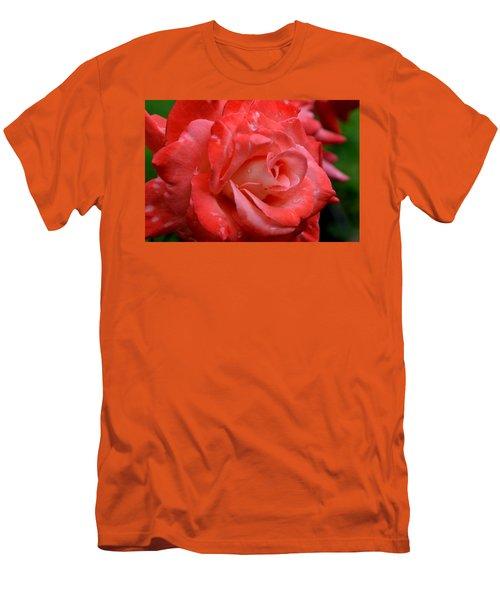 Blush After The Rain Men's T-Shirt (Slim Fit) by Janet Rockburn