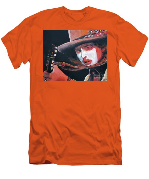 Bob Dylan Men's T-Shirt (Slim Fit) by Tom Carlton