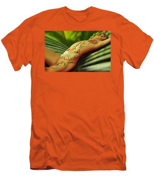 Bodyart 5 Men's T-Shirt (Slim Fit) by Tbone Oliver