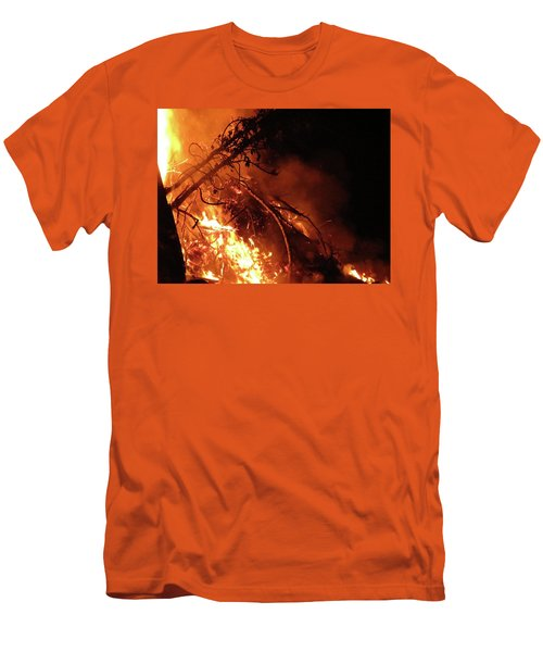 Bonfire Men's T-Shirt (Athletic Fit)
