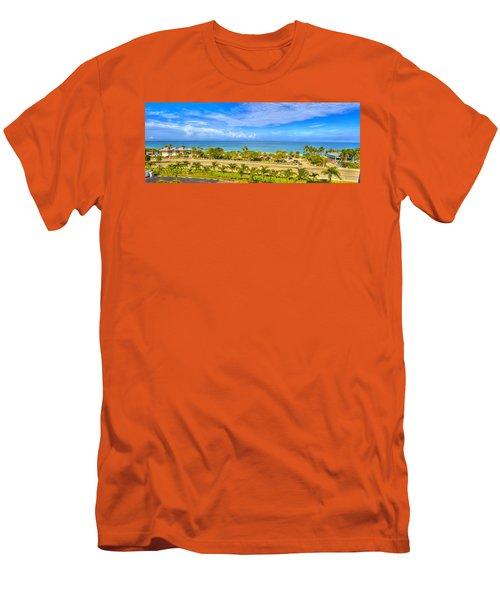 Bonita Beach Men's T-Shirt (Slim Fit) by Sean Allen