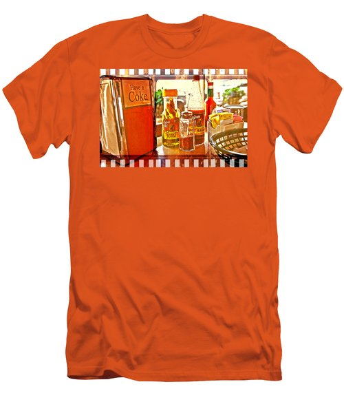 Breakfast At Paul's Men's T-Shirt (Athletic Fit)