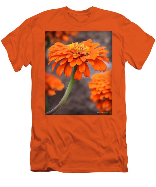 Bright And Beautiful Men's T-Shirt (Slim Fit) by Kathy M Krause