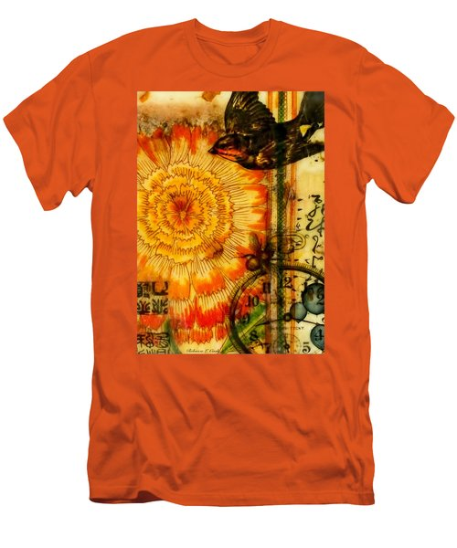 Bright Life Encaustic Men's T-Shirt (Slim Fit) by Bellesouth Studio