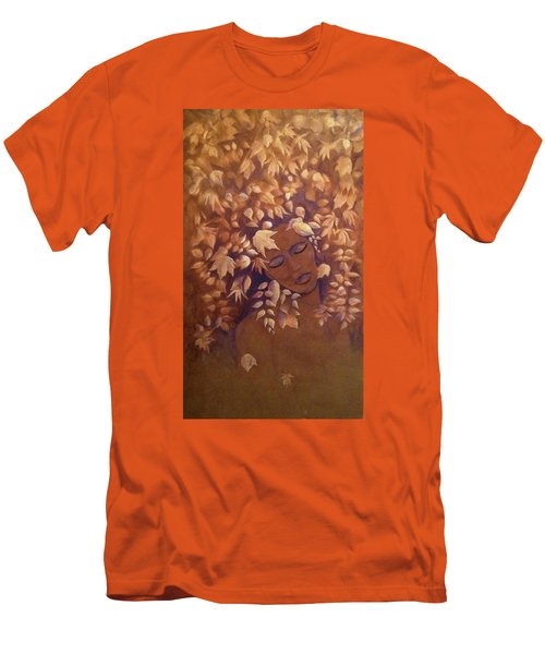 Bronze Beauty Men's T-Shirt (Slim Fit) by T Fry-Green