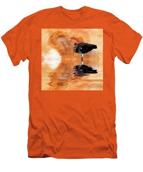 Brown Ibis Men's T-Shirt (Slim Fit) by Cyndy Doty