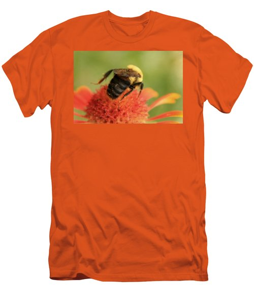 Men's T-Shirt (Slim Fit) featuring the photograph Bumblebee by Chris Berry