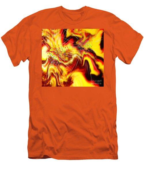 Burst Of Energy Men's T-Shirt (Slim Fit) by Belinda Threeths