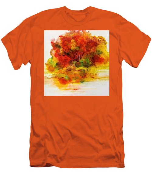 Burst Of Nature IIi Men's T-Shirt (Slim Fit) by Carolyn Rosenberger