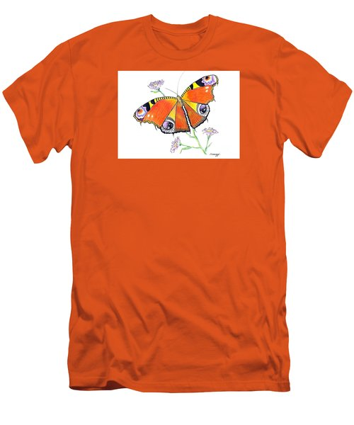 Butterfly Dressed For A Masquerade Ball Men's T-Shirt (Athletic Fit)