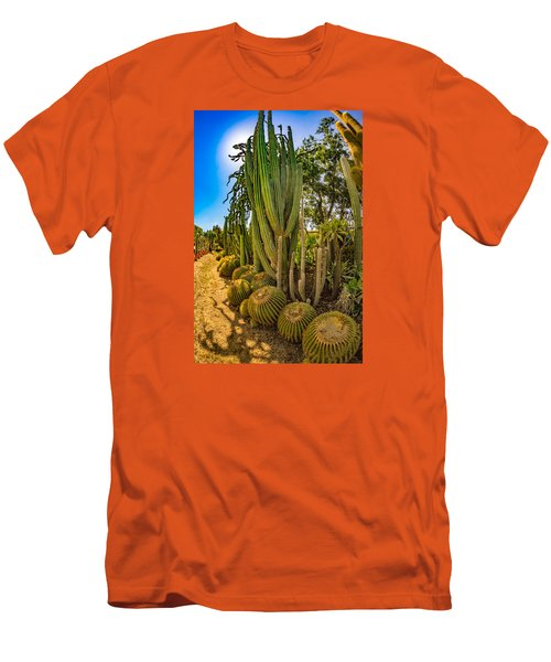 Cactus Promenade Men's T-Shirt (Athletic Fit)