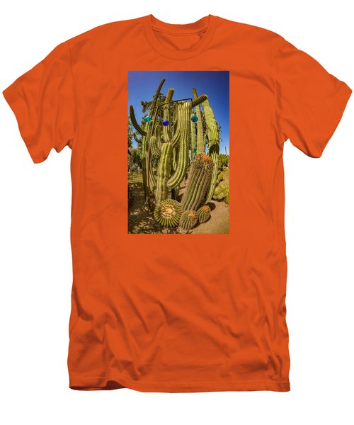 Cactus Skyscraper Men's T-Shirt (Athletic Fit)