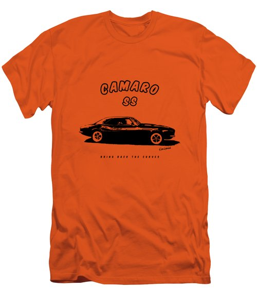 Men's T-Shirt (Slim Fit) featuring the photograph Camaro Ss by Kim Gauge