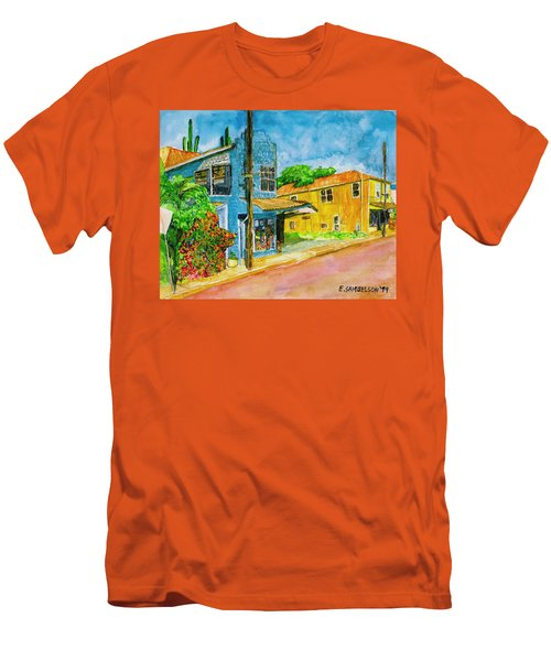 Camilles Place Men's T-Shirt (Slim Fit) by Eric Samuelson