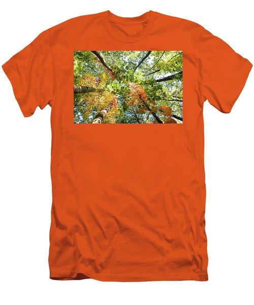 Canadian Foliage Men's T-Shirt (Athletic Fit)