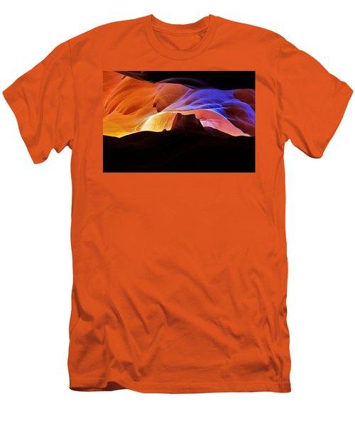 Men's T-Shirt (Slim Fit) featuring the photograph Canyon Antelope by Evgeny Vasenev